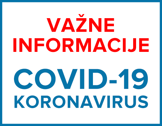 COVID-19 Važne informacije